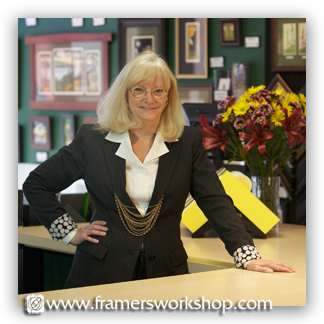 Kirstie Bennett, Co-Owner of The Framer's Workshop, Corporate Art & Framing Consultant
