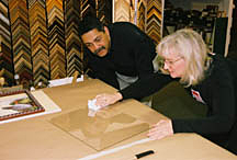 Do it yourself framing at the framers workshop berkeley ca do it yourself framing solutioingenieria Gallery