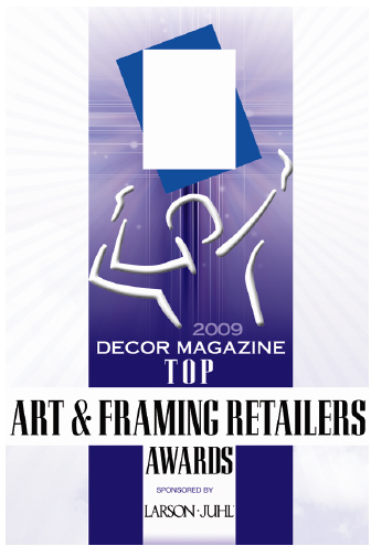Decor Top Art Framing Award