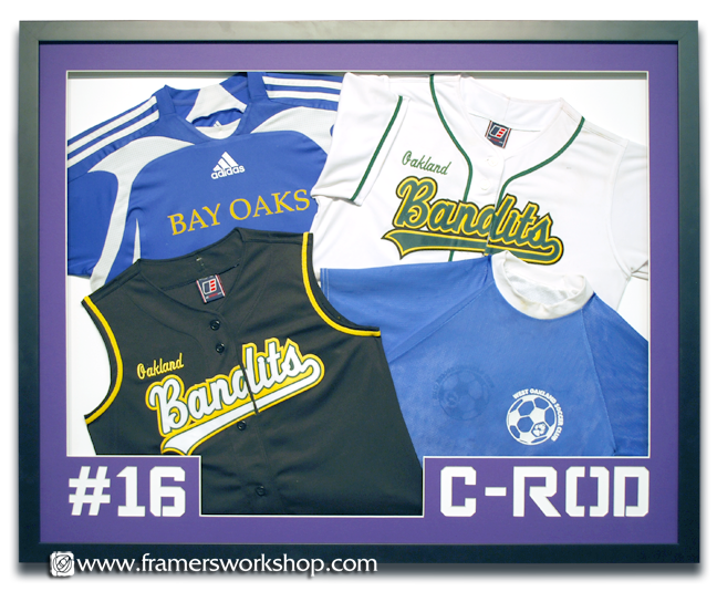 Framed Bandits Jerseys
