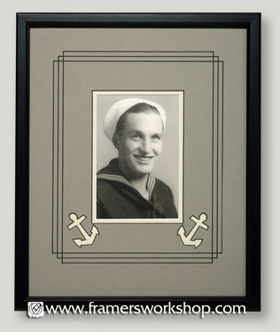 The framers workshop berkeley ca antique photo framing serving we chose this lovely photograph to frame in four distinctly different styles to capture the essence of antique photography framing solutioingenieria Images