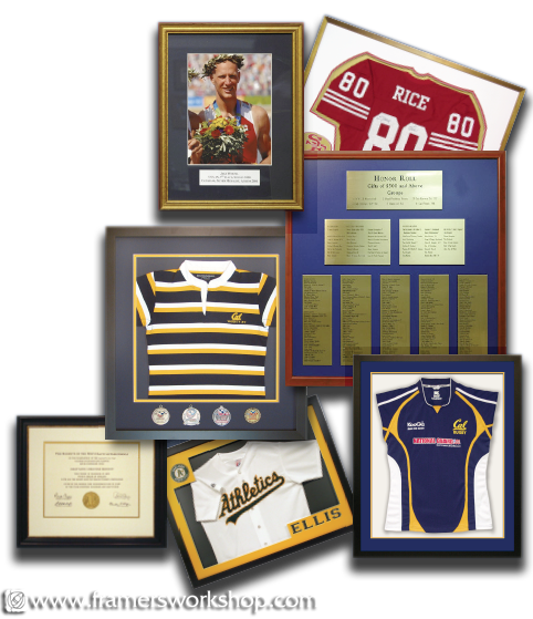 The framers workshop berkeley ca 94704 sports jersey discount the framers workshop sports jersey athletic certificate and award framing solutioingenieria Choice Image