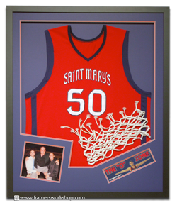omar samhan basketball jersey with hoop netting