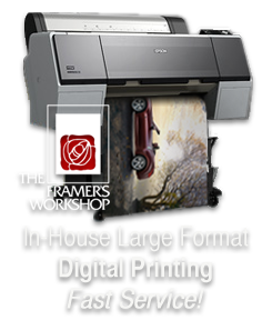 Printing Services at The Framer's Workshop