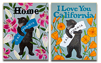 """I Love You California"" Prints"